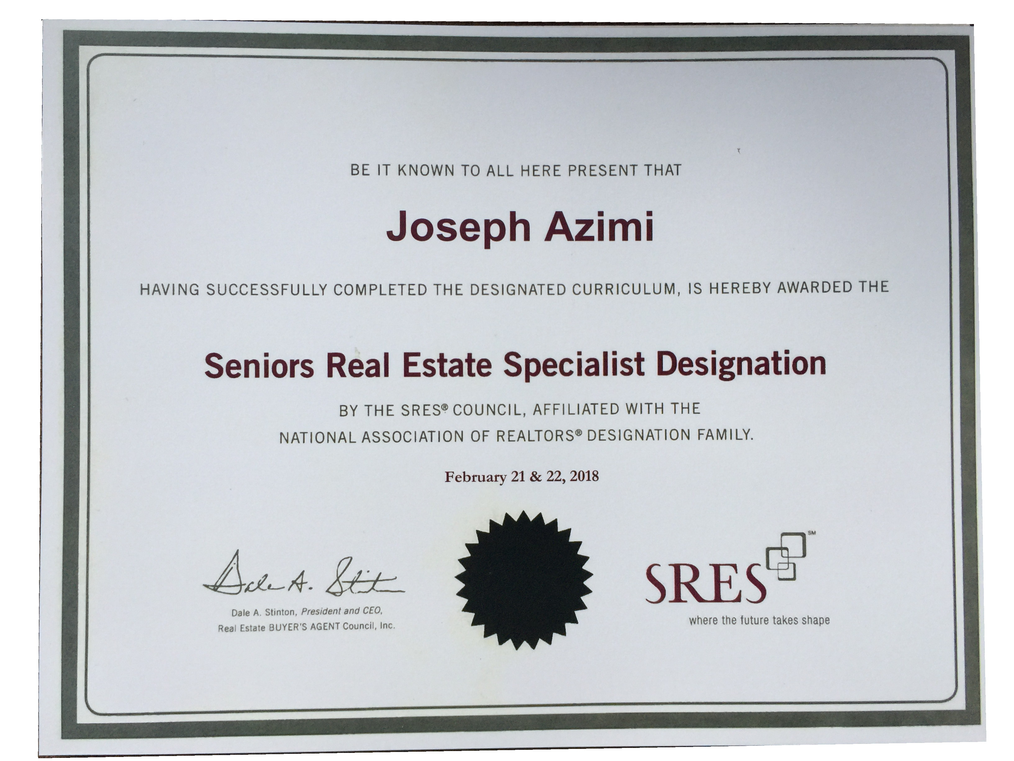 SRES, JOSEPH, AZIMI, TOP, CERTIFIED, SENIORS, REAL, ESTATE, REAL ESTATE, SPECIALIST, EXPERT, SENIORS REAL ESTATE SPECIALIST, IN, TORONTO, VAUGHAN, KLEINBURG, OAKVILLE, RICHMOND HILL, MISSISSAUGA, MARKHAM, BRAMPTON, MILTON, CALEDON, HALTON HILLS, REMAX, REMAX SENIORS REAL ESTATE SPECIALIST, REMAX SRES TORONTO, TOP SENIORS REAL ESTATE SPECIALIST, BEST SENIORS REAL ESTATE SPECIALIST.