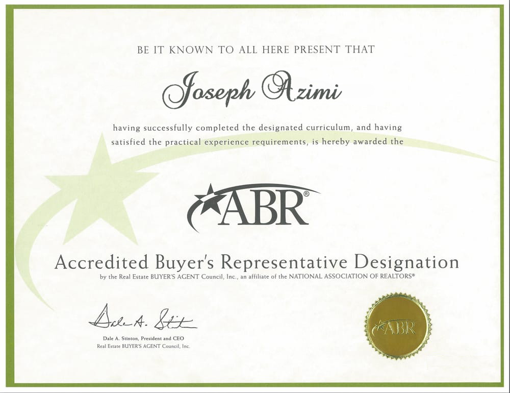 ABR, Joseph, Azimi, Accredited Buyers Representative, Accredited, Buyers, Representative, ABR Toronto, ABR Vaughan, ABR Oakville, ABR Kleinburg, ABR Richmond Hill, ABR Mississauga, Ontario, Toronto, Vaughan, Kleinburg, Oakville, Mississauga, Richmond Hill, Brampton, Markham, Milton, Caledon, Halton Hills, Remax, Remax ABR, ABR Remax, Ontario Accredited Buyers Representative, Toronto Accredited Buyers Representative, Vaughan Accredited Buyers Representative , Kleinburg Accredited Buyers Representative , Oakville Accredited Buyers Representative , Mississauga Accredited Buyers Representative, Richmond Hill Accredited Buyers Representative, Brampton Accredited Buyers Representative, Markham Accredited Buyers Representative, Milton Accredited Buyers Representative , Caledon Accredited Buyers Representative , Halton Hills Accredited Buyers Representative, Remax Accredited Buyers Representative , Remax Top Accredited Buyers Representative In Toronto Is Joseph Azimi, Accredited Buyers Representative Joseph Azimi, Joseph Azimi Accredited Buyers Representative.