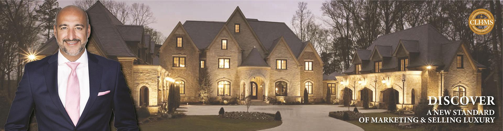 Top Luxury CLHMS - SRES - CNE - ABR - SRS Real Estate Broker Joseph Azimi In Toronto Vaughan Kleinburg Oakville Mississauga Brampton Milton Caledon Etobicoke Markham Richmond Hill Joseph Azimi, Broker 9